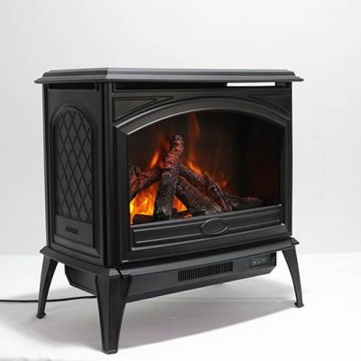Amantii Free Stand Cast Iron E-70 Electric Fireplace-6