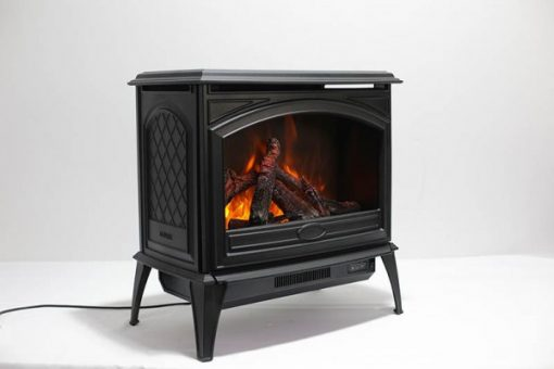 Amantii Free Stand Cast Iron E-70 Electric Fireplace-6