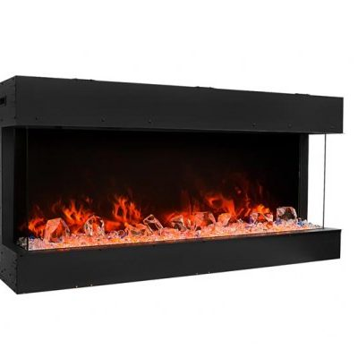 Amantii 40-TRU-VIEW-SLIM – 3 Sided Electric Fireplace
