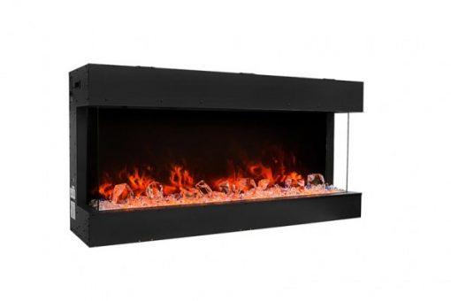 Amantii 40-TRU-VIEW-SLIM – 3 Sided Electric Fireplace