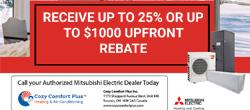 Mitsubishi electric system-Rebate