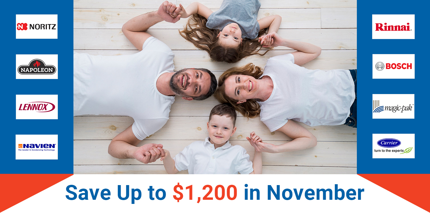 Save Up to $1,200 in Novdember