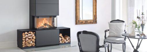 Contura Ri50 Wood Fireplace