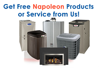 Free Napoleon Products & Services from Cozy in January