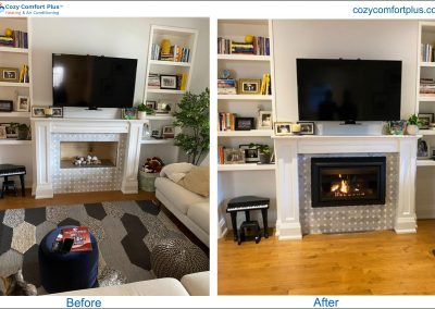 Before & After Fireplace - 2021-2