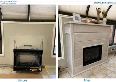 Before & After Fireplace - 2021-4