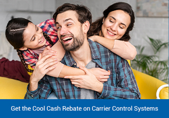 Save up to $1,765 with the Carrier Spring Rebate