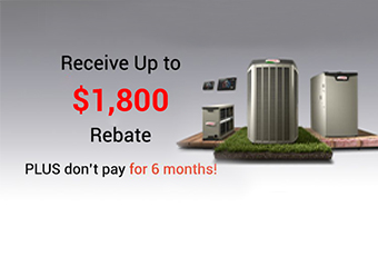 Receive a Lennox rebate up to $1,600